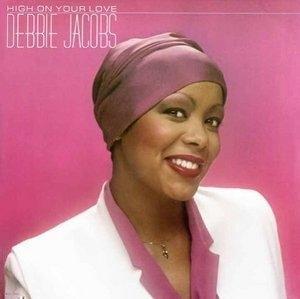 Album  Cover Debbie Jacobs - High On Your Love on MCA Records from 1980