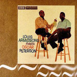 Album  Cover Louis Armstrong - Louis Armstrong Meets Oscar Peterson on [IMPORT... POLYGRAM Records from 2000