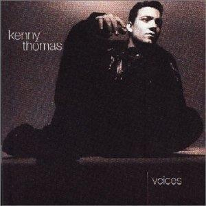 Album  Cover Kenny Thomas - Voices on EMI Records from 1991
