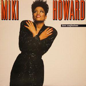 Front Cover Album Miki Howard - Love Confessions