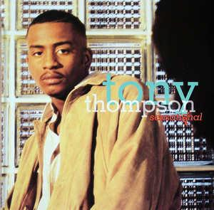 Album  Cover Tony Thompson - Sexsational on GIANT Records from 1995