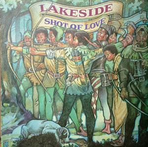 Album  Cover Lakeside - Shot Of Love on RCA Records from 1978