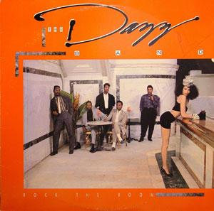 Album  Cover The Dazz Band - Rock The Room on RCA VICTOR Records from 1988