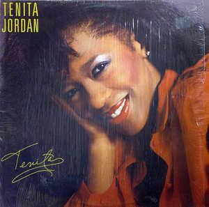 Album  Cover Tenita Jordan - Tenita on TOP PRIORITY Records from 1986