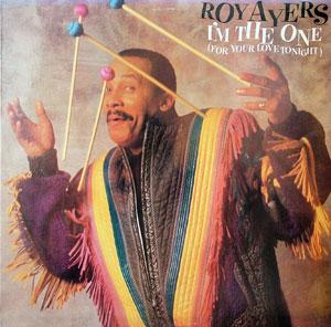 Album  Cover Roy Ayers - I'm The One on COLUMBIA Records from 1987