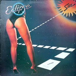 Album  Cover Sun - Eclipse on AIR CITY Records from 1985