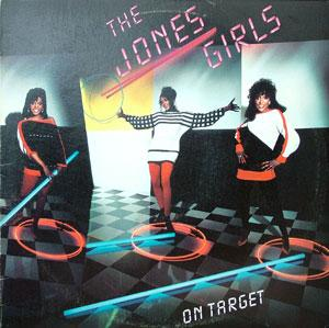 Album  Cover The Jones Girls - On Target on A&M Records from 1983