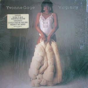 Album  Cover Yvonne Gage - Virginity on CIM (CBS) Records from 1983