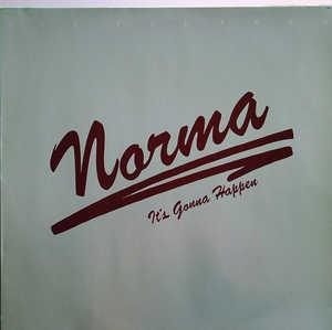 Album  Cover Norma Lewis - It's Gonna Happen on ERC Records from 1983