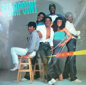 Album  Cover Starpoint - Wanting You on CHOCOLATE CITY Records from 1981