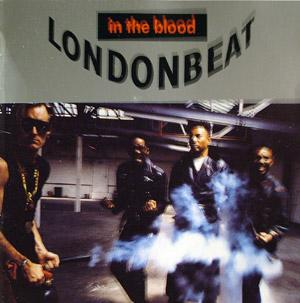 Front Cover Album London Beat - In The Blood