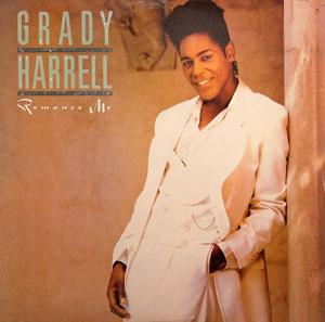 Album  Cover Grady Harrell - Romance Me on RCA Records from 1990