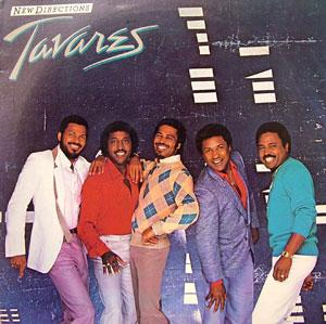 Front Cover Album Tavares - New Directions