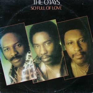 Front Cover Album The O'jays - So Full Of Love