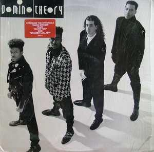 Album  Cover Domino Theory - Domino Theory on RCA Records from 1990