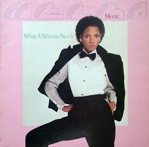 Album  Cover Melba Moore - What A Woman Needs on EMI AMERICA Records from 1981