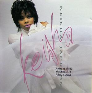 Album  Cover Keisha Jackson - Keisha on EPIC Records from 1991