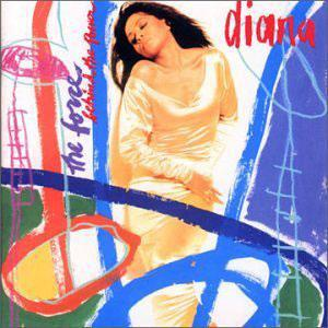 Album  Cover Diana Ross - Force Behind The Power on MOTOWN Records from 1991