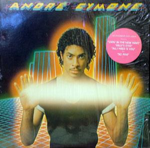 Front Cover Album André Cymone - Livin' In The New Wave