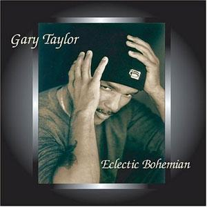 Front Cover Album Gary Taylor - Eclectic Bohemian
