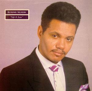 Front Cover Album Ronnie Mcneir - Life & Love