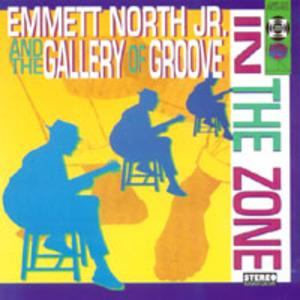 Album  Cover Emmett North Jr - In The Zone on JUMP CUT  Records from 1995