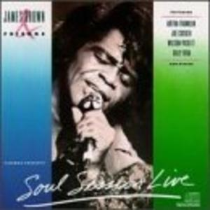 Album  Cover James Brown - Soul Session Live on SCOTTI BROTHERS Records from 1989