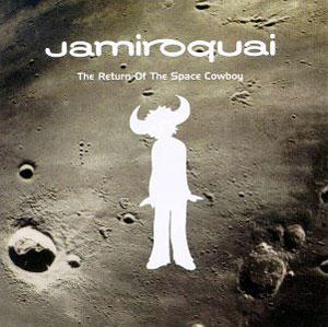 Album  Cover Jamiroquai - The Return Of The Space Cowboy on SONY Records from 1994