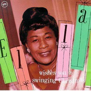 Album  Cover Ella Fitzgerald - Wishes You A Swinging Christmas on POLYDOR Records from 1988