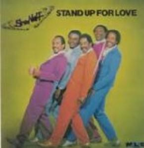 Album  Cover Sho Nuff - Stand Up For Love on  Records from 1982