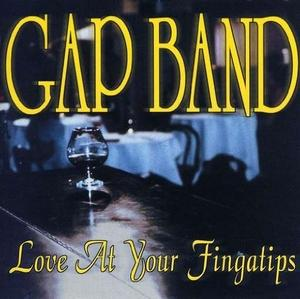 Front Cover Album The Gap Band - Love At Your Fingatips