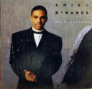 Album  Cover Chico Debarge - Kiss Serious on MOTOWN Records from 1987