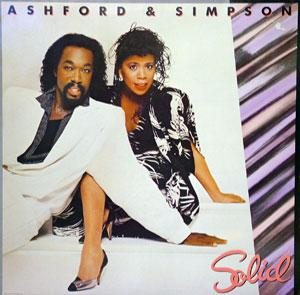 Album  Cover Ashford & Simpson - Solid on CAPITOL Records from 1984