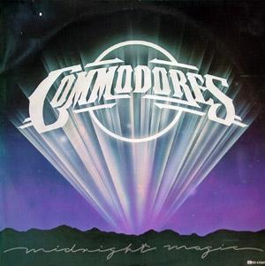 Album  Cover Commodores - Midnight Magic on MOTOWN Records from 1979