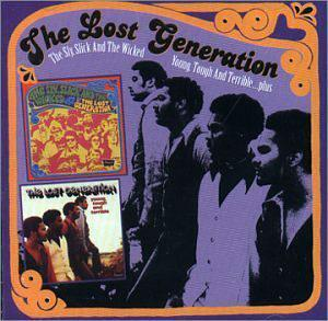 Album  Cover Lost Generation - Young, Tough And Terrible on BRUNSWICK Records from 1971