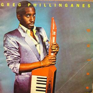 Album  Cover Greg Phillinganes - Pulse on PLANET Records from 1984