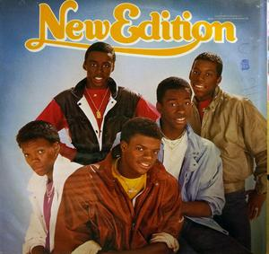 Album  Cover New Edition - New Edition on MCA Records from 1984