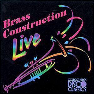 Album  Cover Brass Construction - Live on COLLECTABLES Records from 1998