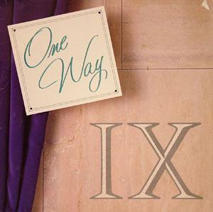 Album  Cover One Way - Ix on MCA Records from 1986