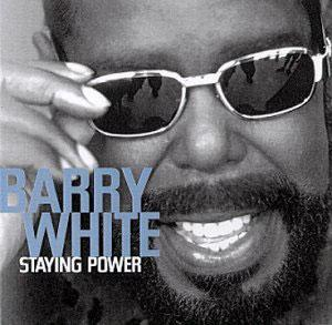 Album  Cover Barry White - Staying Power on BMG Records from 1999