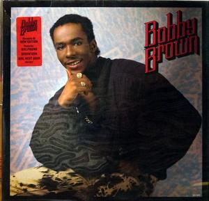 Album  Cover Bobby Brown - King Of Stage on MCA Records from 1986