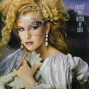 Album  Cover France Joli - Witch Of Love on EPIC Records from 1985