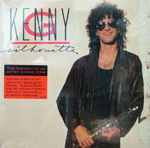 Album  Cover Kenny G - Silhouette on ARISTA Records from 1988
