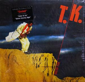 Album  Cover Takeshi Itoh - T.k. on COLUMBIA Records from 1988