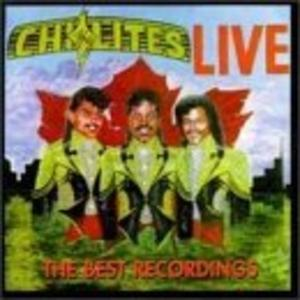 Album  Cover The Chi-lites - Live! on TRACE Records from 1996