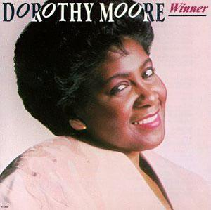 Album  Cover Dorothy Moore - Winner on VOLT Records from 1989