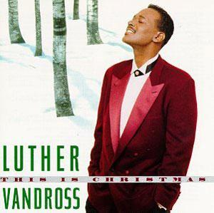 Album  Cover Luther Vandross - This Is Christmas on EPIC Records from 1995