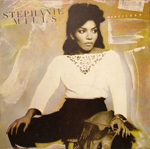 Album  Cover Stephanie Mills - Merciless on CASABLANCA Records from 1983