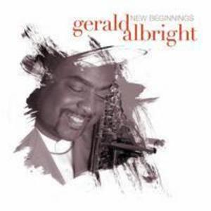 Album  Cover Gerald Albright - New Beginnings on PEAK Records from 2006