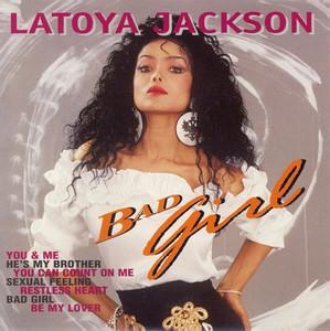 Album  Cover La Toya Jackson - Bad Girl on SLAM MUSIC Records from 1990